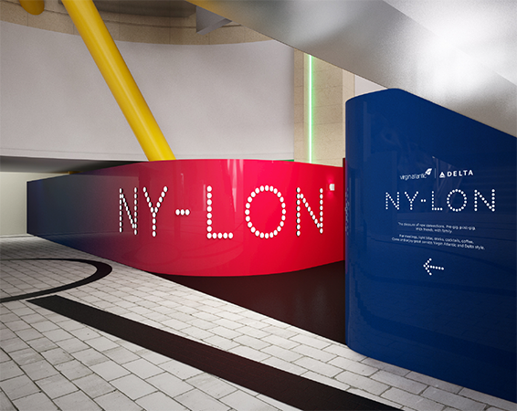 The bar is now open: NY-LON at the O2